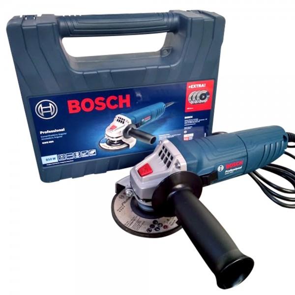 Esmerilhadeira Bosch GWS 850 Maleta