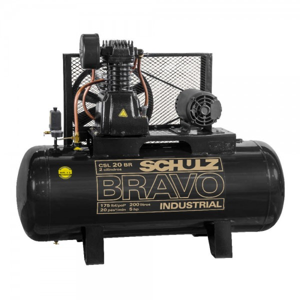 Compressor Ar Schulz Bravo CSL 20200