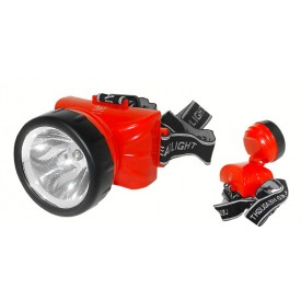 lanterna de cabeca recarregavel led 722a albatroz