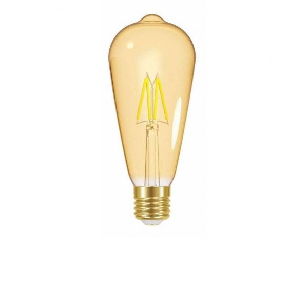 lampada led filamento vintage st64 4w