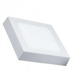 painel led quadrado sobrepor 12w
