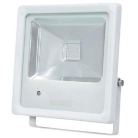 refletor tr led 10 10w branco luz verde