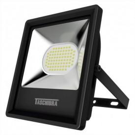 refletor tr led 50 50w 6500k preto tasch